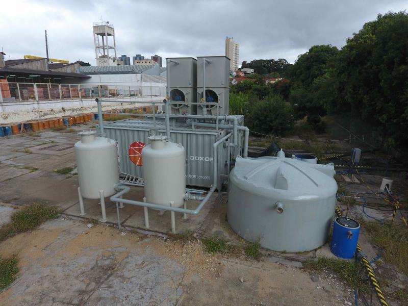 Serviços de remediação ambiental
